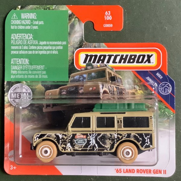 Matchbox   '65 Land Rover Gen II beige, luggage with boxes