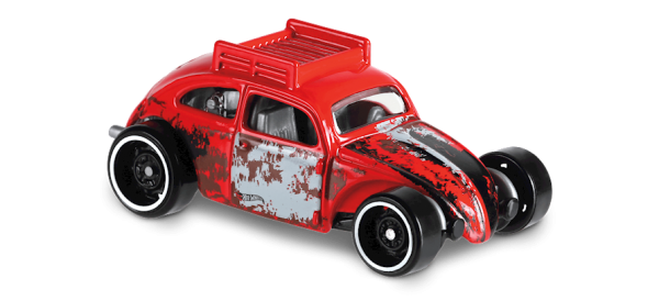 Hot Wheels | Custom Volkswagen Beetle rot