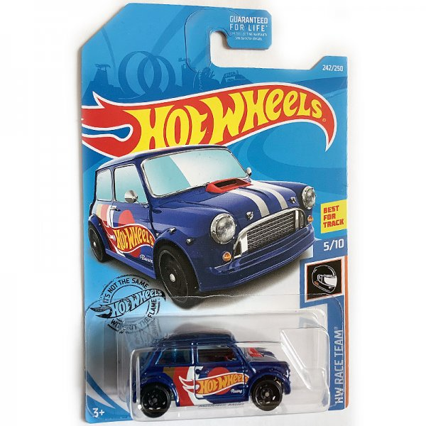"Hot Wheels | Morris Mini ""Hot Wheels Racing"" blaumetallic US"