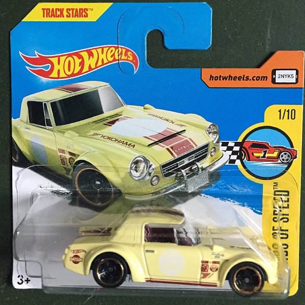 Hot Wheels | Datsun Fairlady 2000 Roadster hellgelb