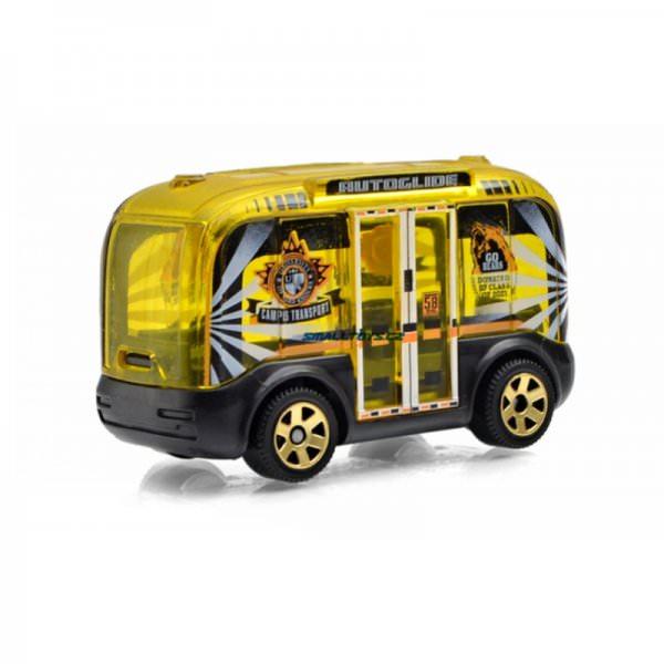 Matchbox | MBX Self-Driving Bus blue & white