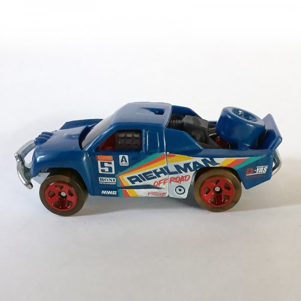 Hot Wheels | Off-Track aus Hot Trucks 5-Pack blau ohne Verpackung