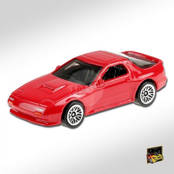 Hot Wheels   Mazda Savanna RX-7 FC3S red