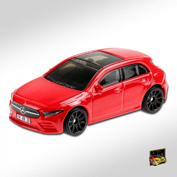 Hot Wheels | '19 Mercedes-Benz A-Class red