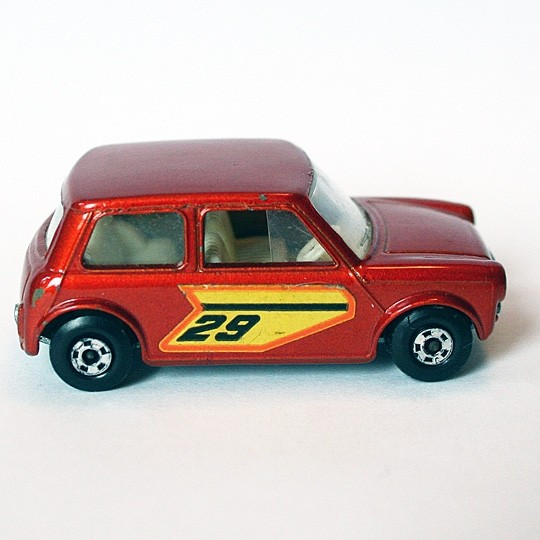 Matchbox | SF Racing Mini No 29 rotmetallic ohne Box #22