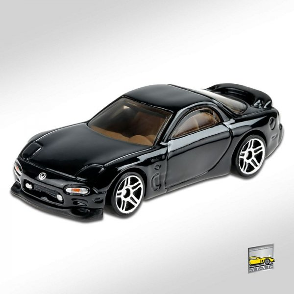 Hot Wheels | '95 Mazda RX-7 schwarz