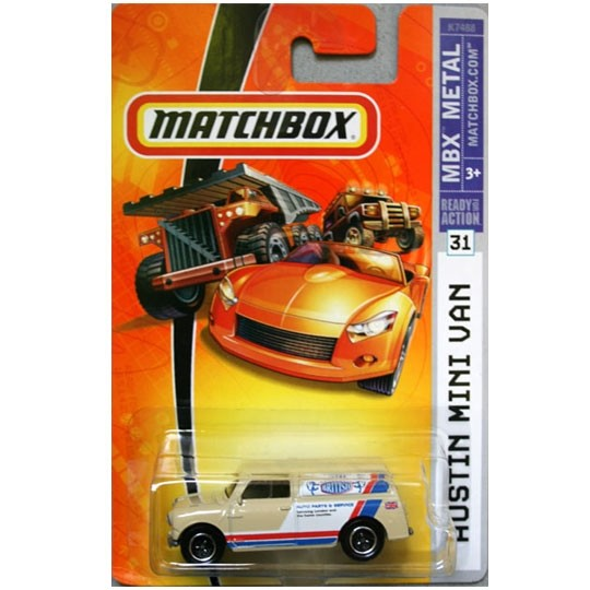 Matchbox | Austin Mini Van Authentic British US