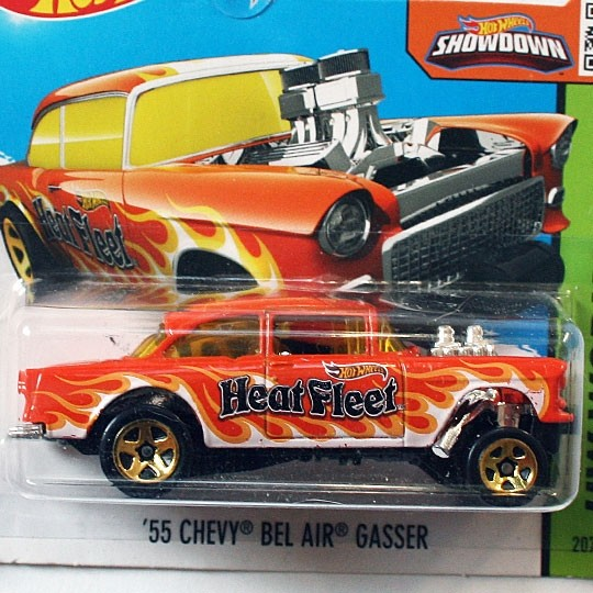 Hot Wheels | Chevy Bel Air Gasser orange