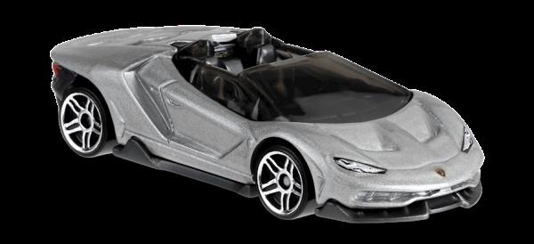 Hot Wheels | Lamborghini Centenario Roadster silver
