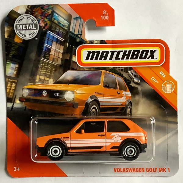 Matchbox | Volkswagen Golf GTI MK I orange
