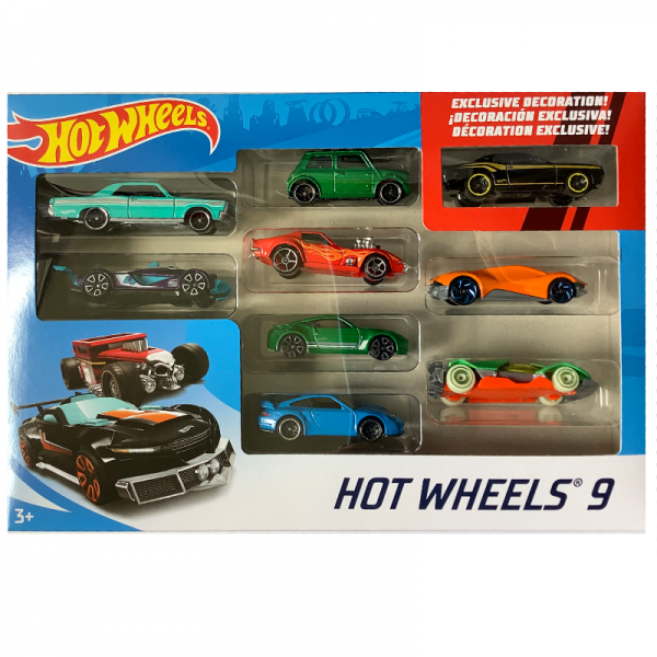Hot Wheels | 9-Pack Morris green metallic