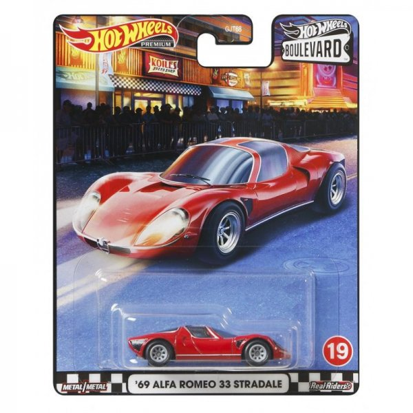 Hot Wheels | Boulevard '69 Alfa Romeo 33 Stradale
