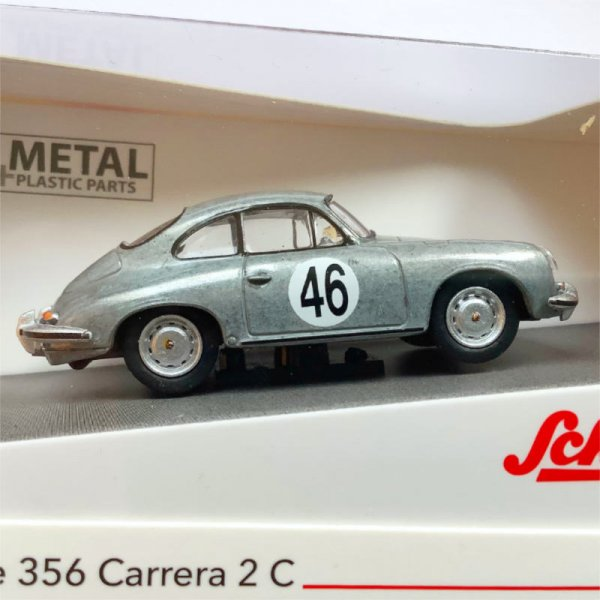 Schuco | Porsche 356 Carrera 2C Coupe #46 CHASE model unpainted