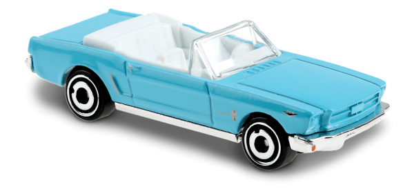 Hot Wheels | '65 Ford Mustang Convertible light blue