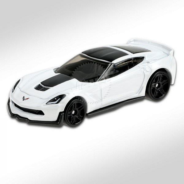 Hot Wheels | Corvette C7 Z06 white