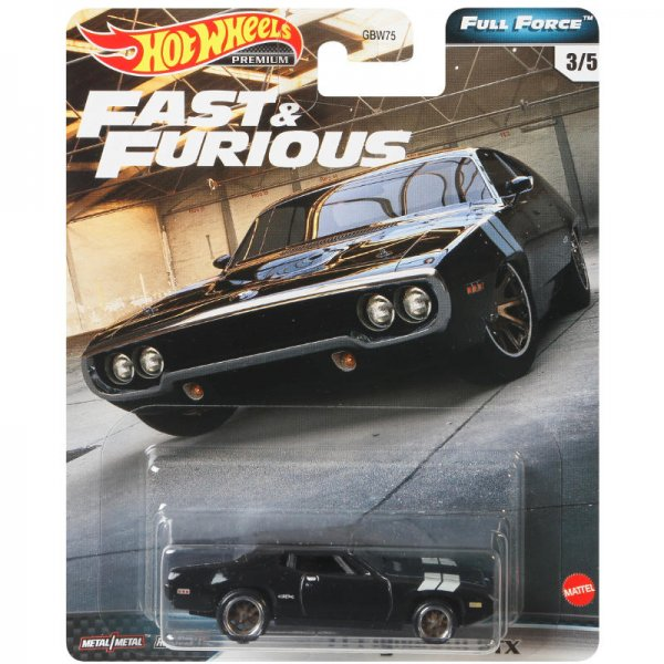 Hot Wheels | Fast & Furious Full Force Plymouth - Dom's GTX Coupe 1971
