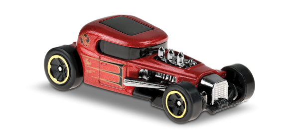 Hot Wheels | Mod Rod metallic red