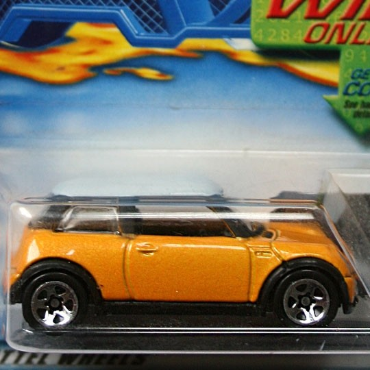 Hot Wheels | MINI Cooper orange/weiß US