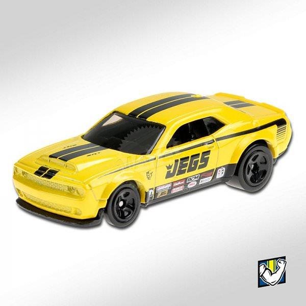 Hot Wheels | '18 Dodge Challenger SRT gelb JEGS