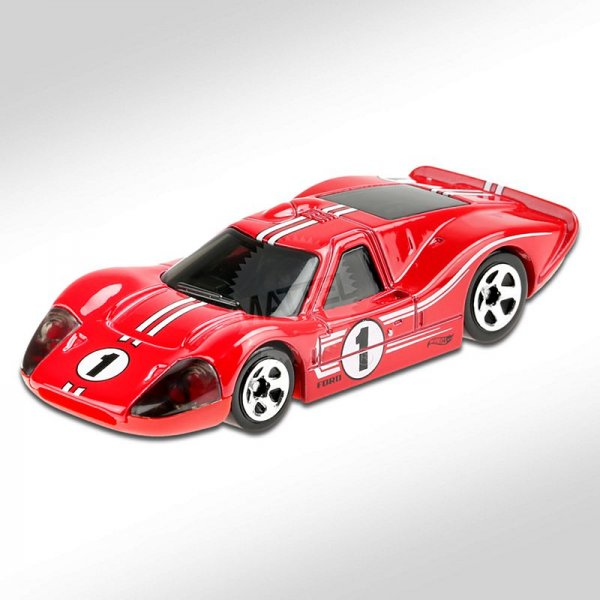 Hot Wheels | Ford GT40 MK IV #1 red
