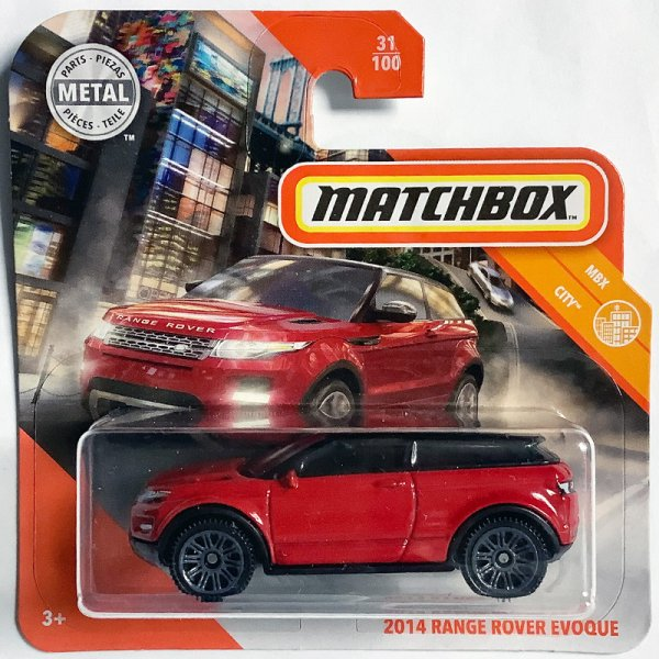 Matchbox | Range Rover Evoque red