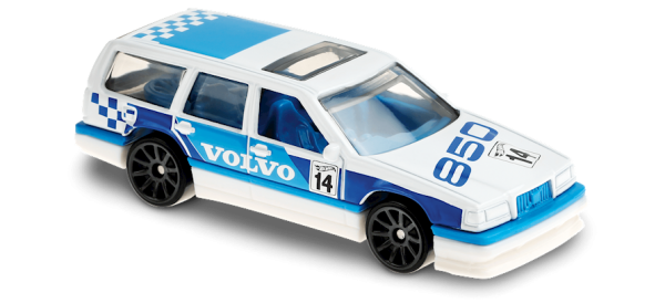 Hot Wheels | Volvo 850 Estate Rally white