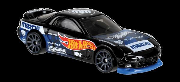 Hot Wheels | '95 Mazda RX-7 blau