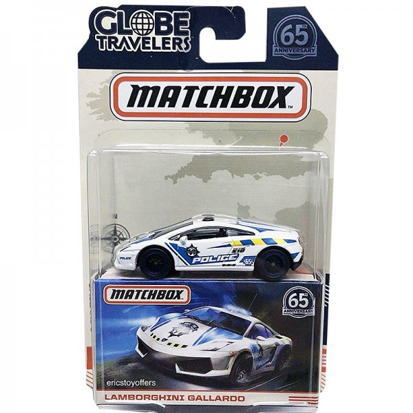 Matchbox | Globe Travelers Lamborghini Gallardo Police