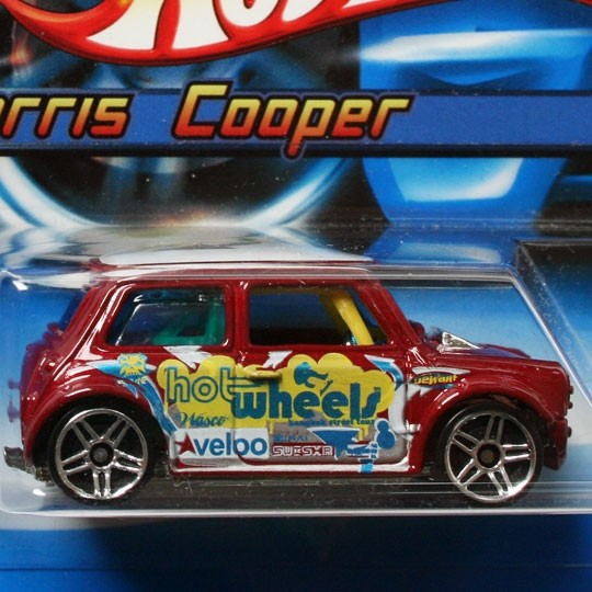 Hot Wheels | Morris Cooper dunkelrot