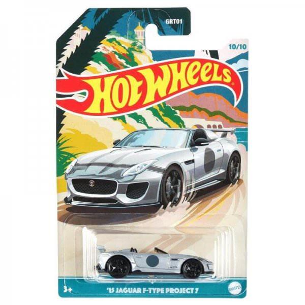 Hot Wheels   2015 Jaguar F Type Project 7 silver