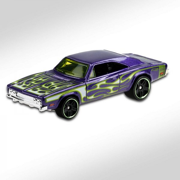 Hot Wheels | '69 Dodge Charger 500 purple