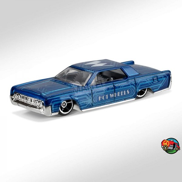 Hot Wheels | '64 Lincoln Continental ART CAR blaumetallic