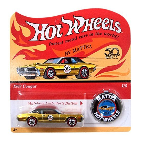 Hot Wheels | 50th Anniversary Originals Series 1968 Cougar goldmetallic