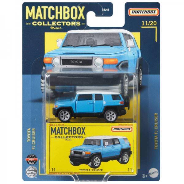 Matchbox   Collectors Serie 11/20 Toyota FJ Cruiser blau / weiß