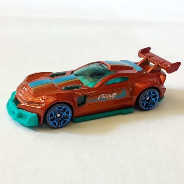 Hot Wheels | Track Ripper in orange metallic without packaging