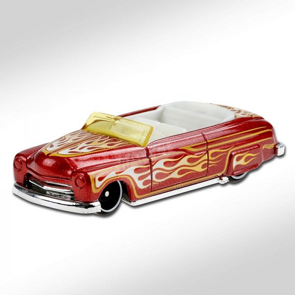 Hot Wheels | '49 Merc rotmetallic mit Flammen