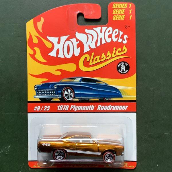 Hot Wheels | Classics Serie 1 #9/25 1970 Plymouth Roadrunner goldmetallic