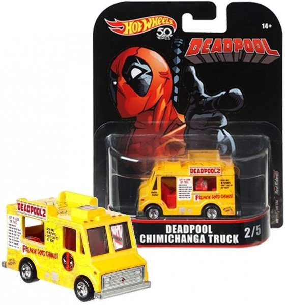 Hot Wheels | Deadpool Chimichanga Truck gelb