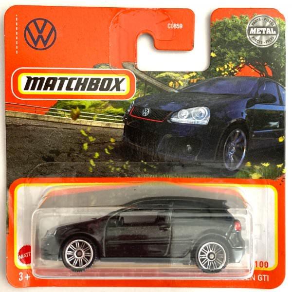 Matchbox | Volkswagen Golf GTI schwarz
