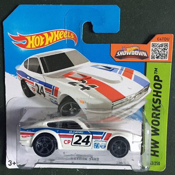 Hot Wheels   Datsun 240Z #24 weiß