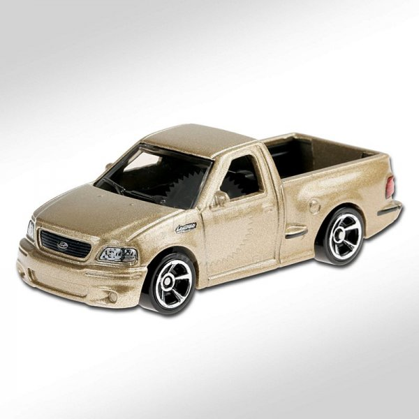 Hot Wheels | '99 Ford F-150 SVT Lightning goldmetallic