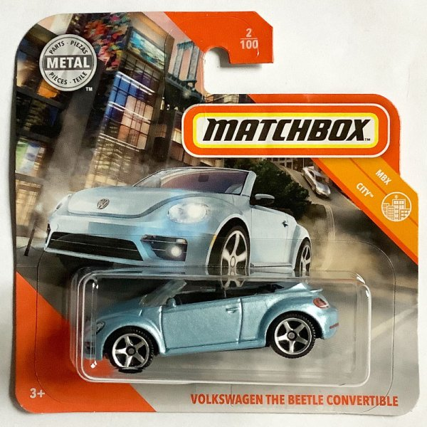 Matchbox | Volkswagen The Beetle Convertible hellblaumetallic