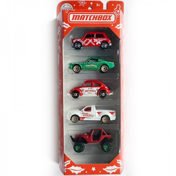 Matchbox | 5-Pack Happy Holidays with Mini