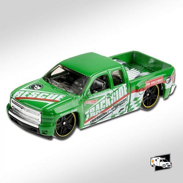Hot Wheels | Chevy Silverado TREASUE HUNT green