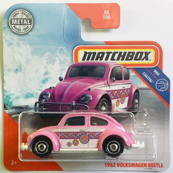 Matchbox | 1962 Volkswagen Käfer pink PEACE