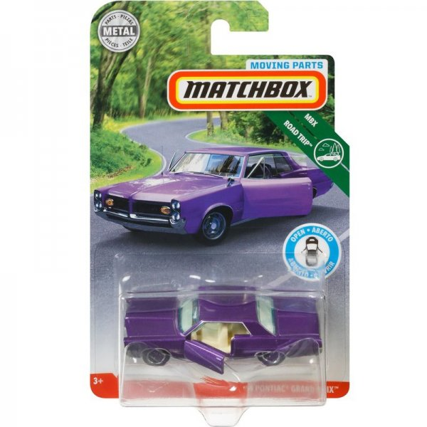 Matchbox | Roadtrip Open Parts Serie 1964 Pontiac Grand Prix violett