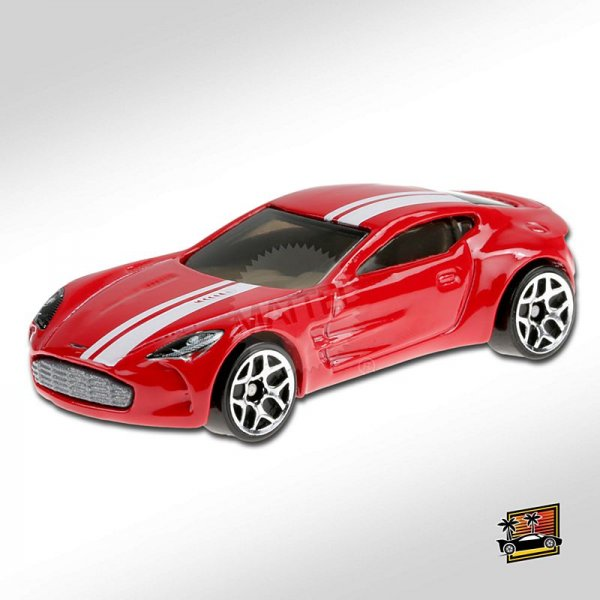 Hot Wheels | Aston Martin One-77 rot