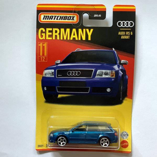Matchbox | Best of Germany Audi RS6 Avant blau