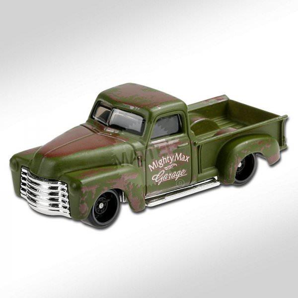 Hot Wheels | '52 Chevy Pickup matt olive