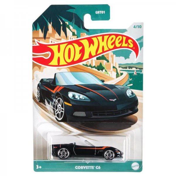 Hot Wheels   Corvette C6 schwarz
